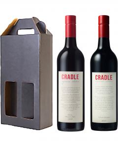 Mollys Cradle Cradle Premium Red Twin Pack Cabernet Sauvignon and Shiraz Wine