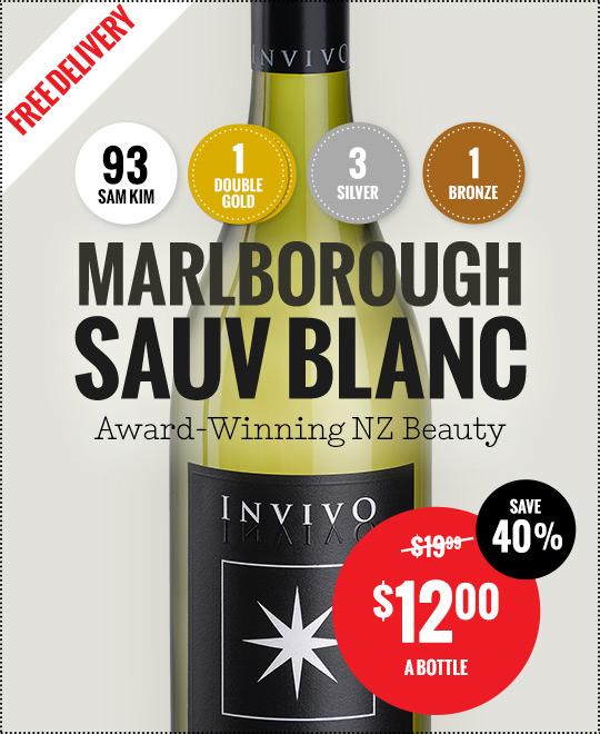 Invivo Marlborough Sauvignon Blanc -  per bottle