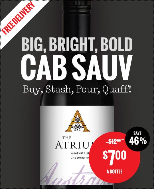The Atrium Cabernet Sauvignon -  per Bottle - Free Delivery