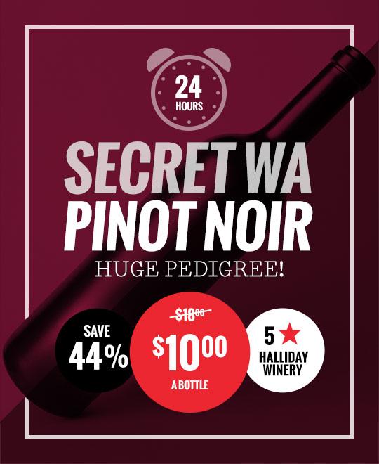 Secret West Australian Pinot Noir
