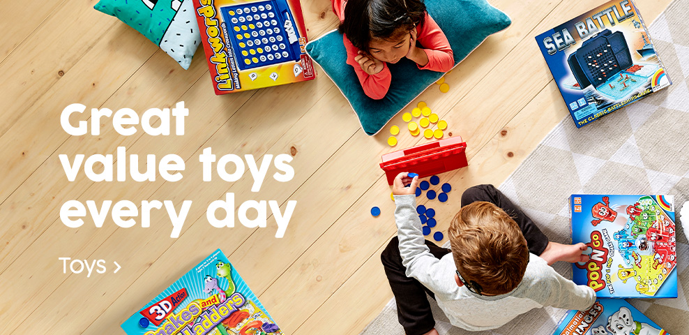 Great value toys every day - Shop toys