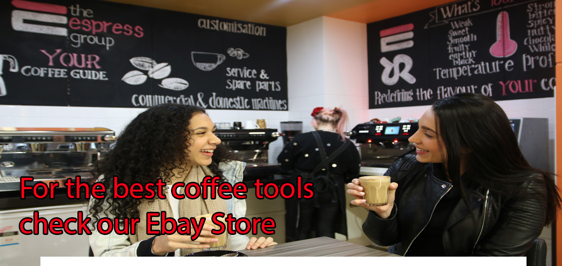 For the best coffee tools check our Ebay store