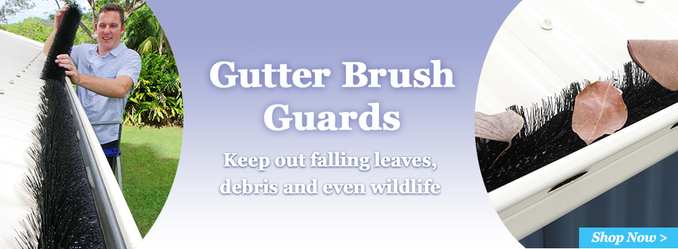 NEW Brush Gutter Guards