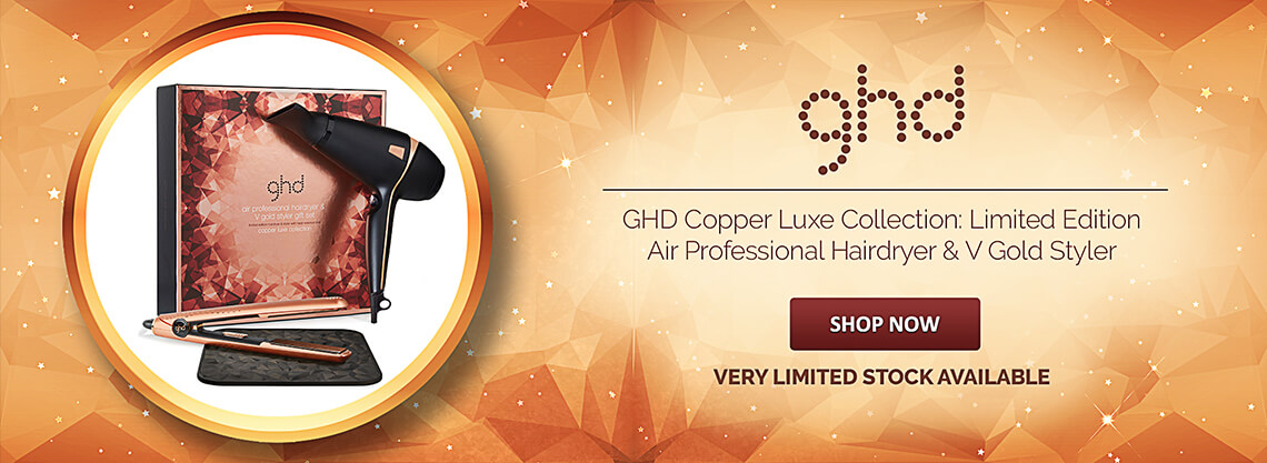 GHD Deluxe Dry & Style Copper Luxe Gift Set