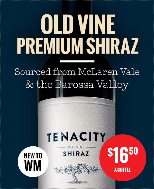 Tenacity Old Vine Shiraz