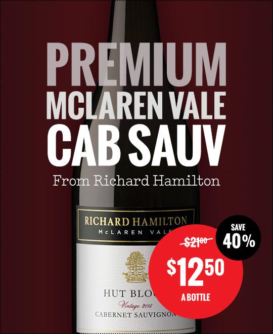 Richard Hamilton Hut Block Cabernet