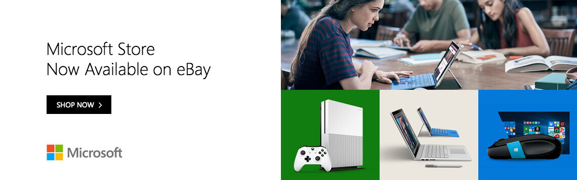 Microsoft Store Now Available on eBay