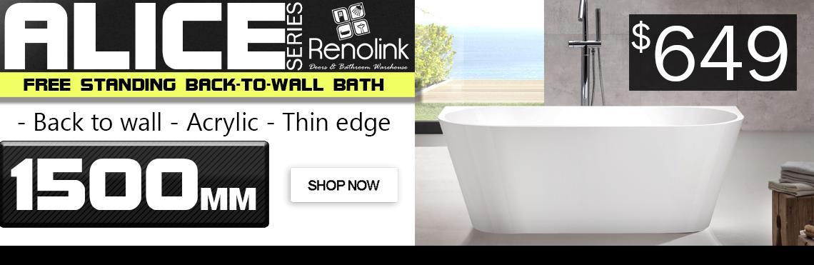 Renolink - Alice 191-1500 free standing bath tub