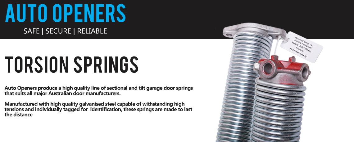 Garage Door Torsions Springs