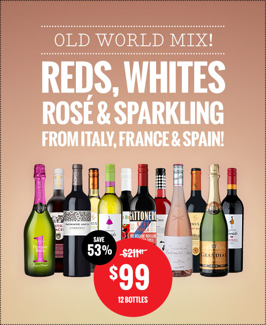 Old World Style Wines Mix