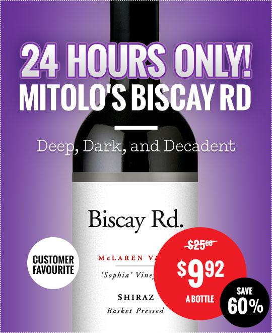 Biscay Rd Mclaren Vale shiraz