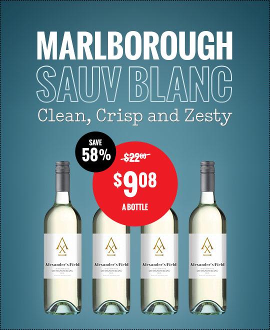 Alexanders Field Marlborough Sauv Blanc