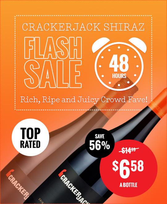 Crackerjack Shiraz Flash