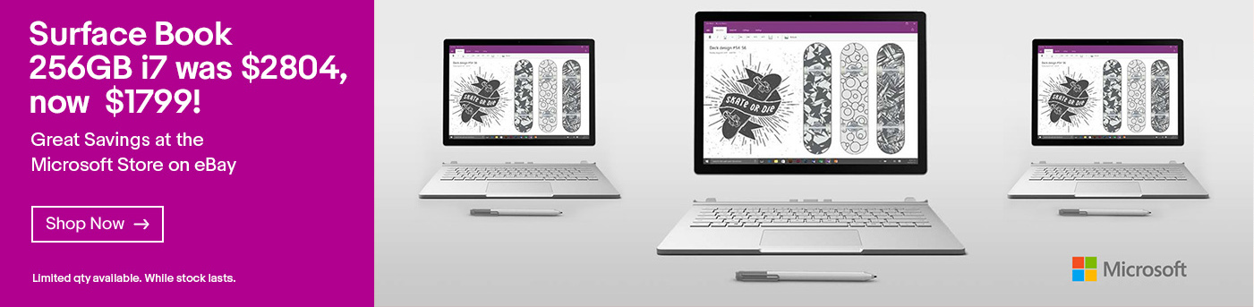 Surface Book 256GB i7