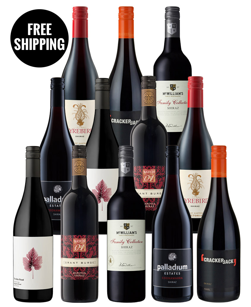 Shiraz Mixed Dozen