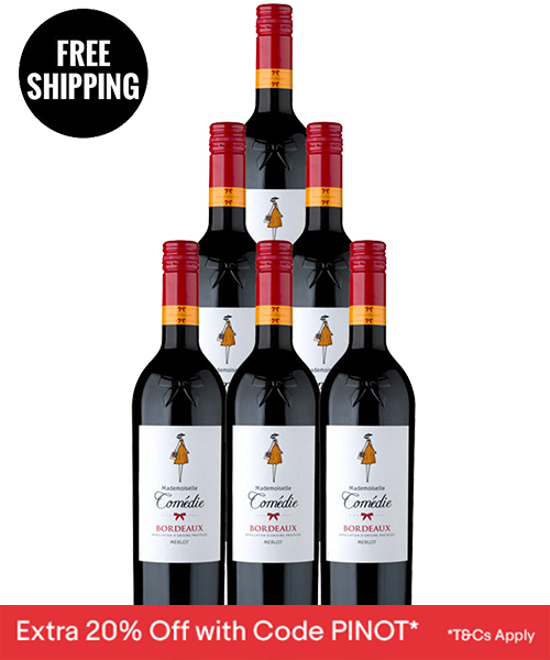 French Red Wine 6pk
