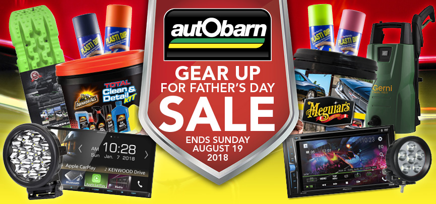Gear Up For Fathers Day At Autobarn