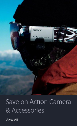 Save on Action Cameras