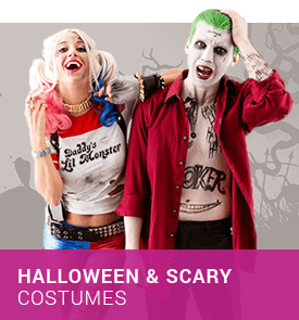 Halloween & Scary Costumes