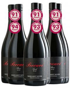 Peccavi Shiraz & Syrah Mixed Red Pack pack of 6 Dry Red Wine 750mL