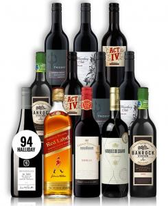 Big Red Wine & Scotch Mix Premium Mcguigan 12 Bottles