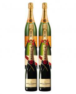 Veuve  Mumm   Moet Champagne Mix 6 Pack