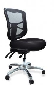 Buro Metro Task Chair With Aluminium Base Black