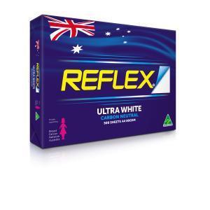 Reflex Ultra White A4 Copy Paper 80gsm Box 5 Reams