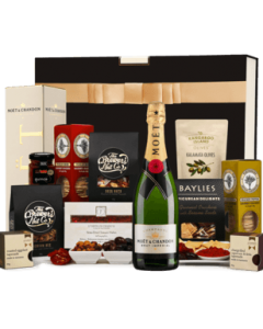 The Hamper Emporium Moet and Gourmet Nibbles Hamper