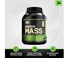 Optimum Nutrition Serious Mass - ON Protein Mass Gainer - Free Gift