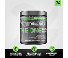 BPM Labs The One Black Label 30 Serves - Pre Workout - Free Gift