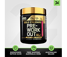 Optimum Nutrition Gold Standard Pre Workout - ON Energy Focus Boost - Free Gift