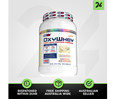 EHP Labs OxyWhey - Lean Whey Protein Blend Low Fat Low Carb - Free Gift