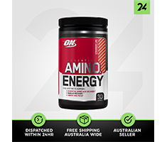 Optimum Nutrition Amino Energy - ON BCAA Branch Chain Amino Acids - Free Gift