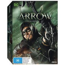 NEW Arrow - Series 1-4 DVD Collection DVD