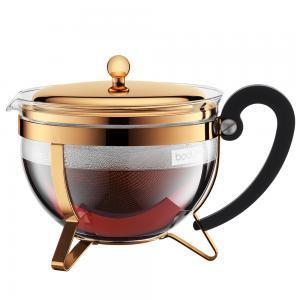 Bodum Chambord Classic Gold Teapot
