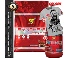 BSN SYNTHA 6 EDGE 8LB - 30 Serve AMINO X - BONUS BSN T-Shirt