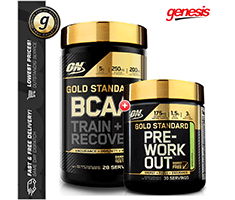 Optimum Nutrition GOLD STANDARD BCAA - ON Pre Workout