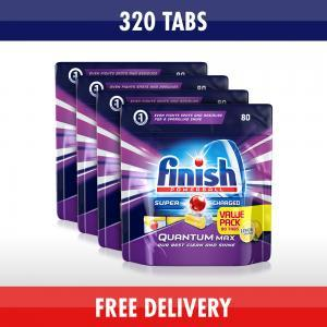 Finish Quantum Lemon 320 Dishwasher Tablets