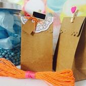 25 x Brown Kraft Paper Bag Lolly Candy Favour Bag Loot & Gift Bags Lolly Buffet