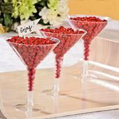 144 x Disposable Plastic Cocktail Martini Glasses 250ml Bulk Wholesale Lot