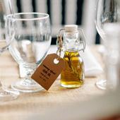 108 x Small Mini 50ml Glass Jars Bottle Wedding Favours Lolly Jar Oil Bottle