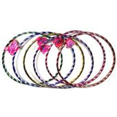 36 x 65cm Fitness Hula Hoops for Playing & Exercise Hoola Hoop - Wholesale Lot