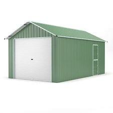 Single Garage 3 6m x 6 1m Widespan Rivergum Garages Steel NEW