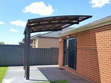 Cantilever Patio Cover 3m x 5 5m Car Port Aluminium Portable NEW