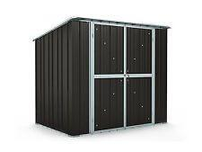 Garden Shed 2 31m x 1 55m x 2 02m Ironsand Storage Sheds Colorbond NEW