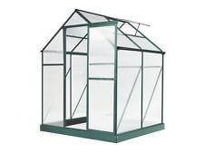 Evergreen Greenhouse 6 x 4ft Green Small Green Houses Aluminium NEW