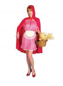 Red-Riding-Hood-Womens-Ladies-Character-Fancy-Dress-Costume-One-Size