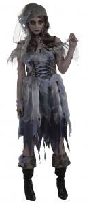 Zombie-Pirate-Lady-Womens-Ladies-Pirates-Fancy-Dress-Costume-Party-Outfit