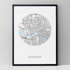 NEW Melbourne round print Women by Inky Editions
